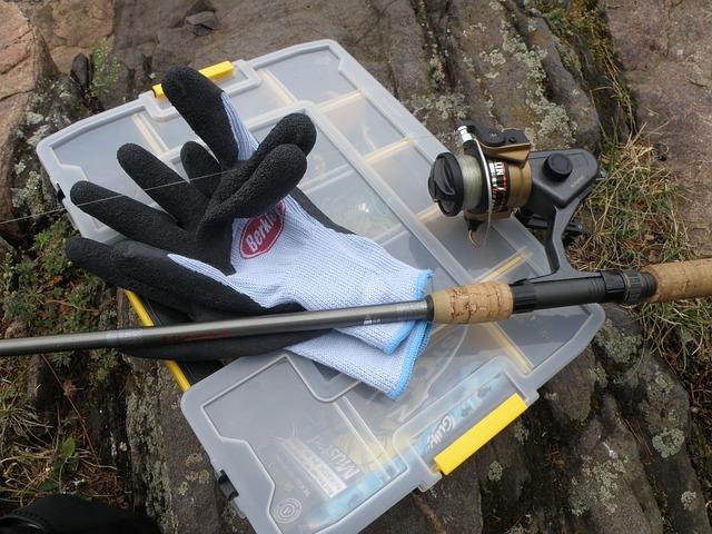small fishing tackle box