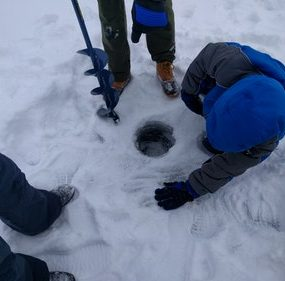 What Size Auger for Ice Fishing