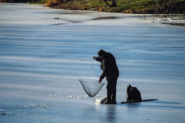 cold fisherman