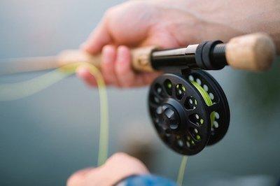 fly fishing rod vs normal